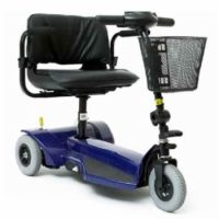 AmeriGlide 111TS - 3 Wheel Travel Scooter