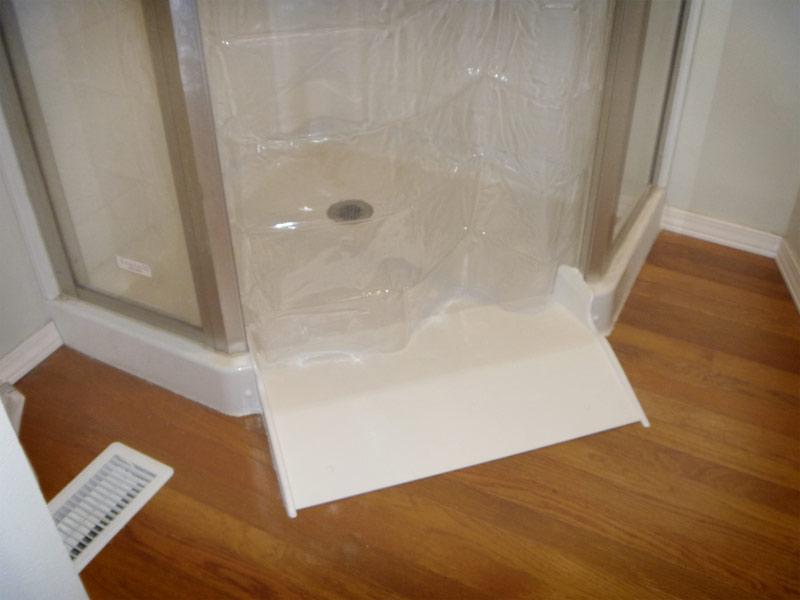 Ameriglide Shower Roll In Conversion Kit Walk In Bath Tubs
