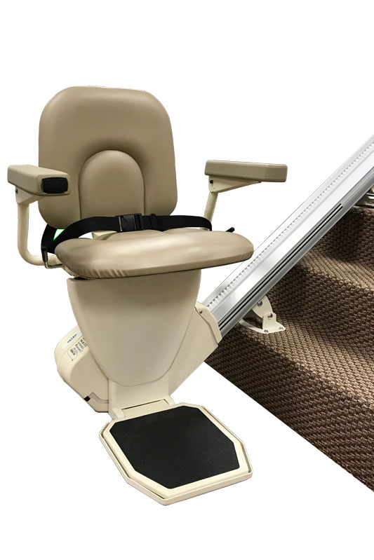 Reconditioned AmeriGlide Rave Stair Lift