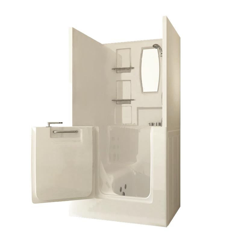 Small Shower Enclosure Sanctuary Walk-In Tub