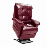 Shown in Sta Kleen Burgundy with Included Lumbar Pillow
