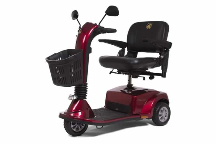 Golden Midsize Companion - 3 Wheel Scooter
